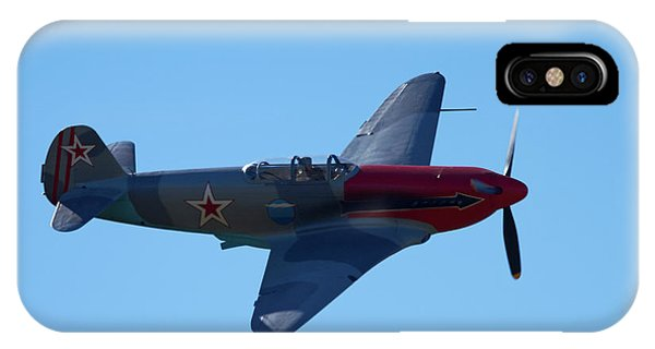 Yakovlev Yak-3 - Wwii Russian Fighter IPhone Case