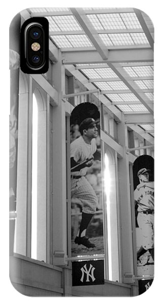 Yankee Greats Of Yesteryear In Black And White IPhone Case