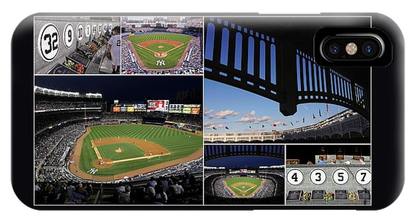 Yankee Stadium Collage IPhone Case