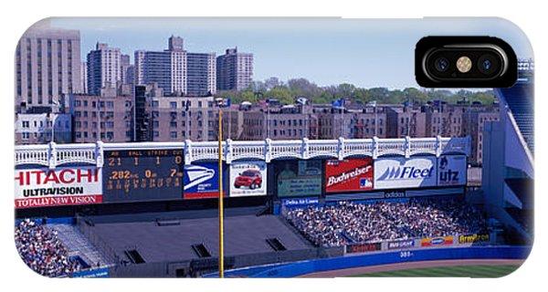 Yankee Stadium Ny Usa IPhone Case