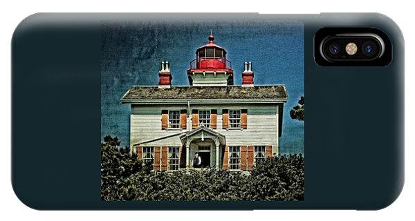 Yaquina Bay Lighthouse IPhone Case