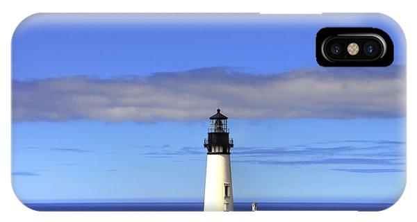 Yaquina Head Light   2 IPhone Case