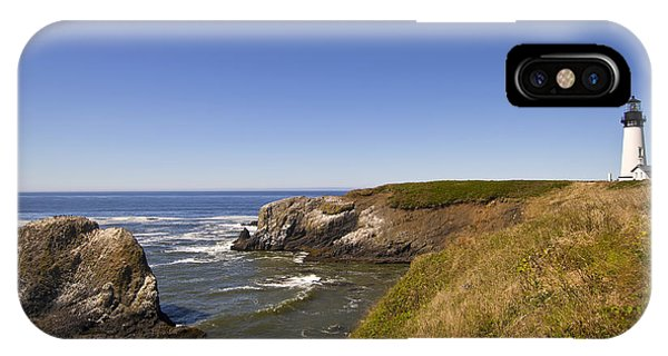 Yaquina Head Lighthouse 4 IPhone Case