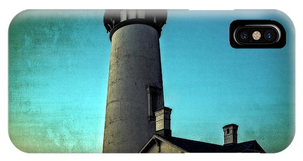 Yaquina Head Lighthouse At Sunset IPhone Case