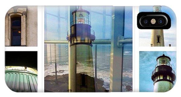 Yaquina Head Lighthouse Essence  IPhone Case