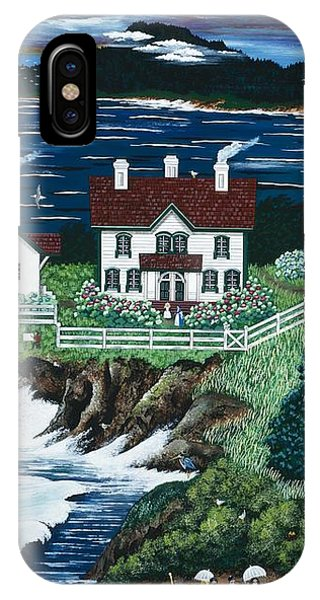 Yaquina Lighthouse IPhone Case