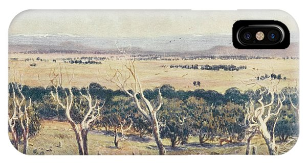 Canberra iPhone Case - Yass-canberra - Chosen As Site by Mary Evans Picture Library