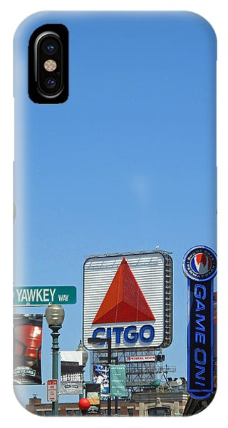 iPhone Case - Yawkey Way And Citgo by Barbara McDevitt
