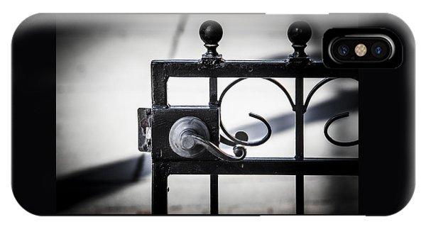 Ybor City Gate IPhone Case