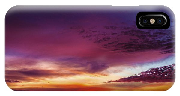 Year End Sunrise IPhone Case