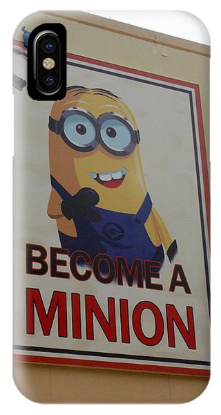 Year Of The Minions IPhone Case