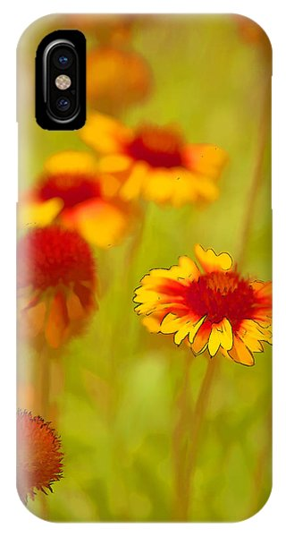 Indian Blanket Coneflower IPhone Case