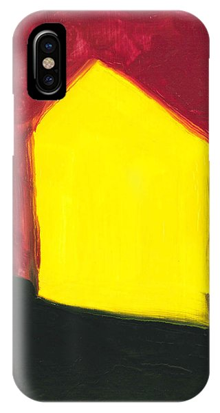 Yellow Arthouse IPhone Case