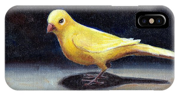 Yellow Bird IPhone Case