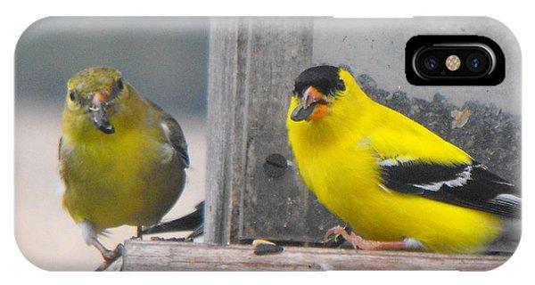 Yellow Birds IPhone Case