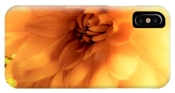 Yellow Bloom IPhone Case