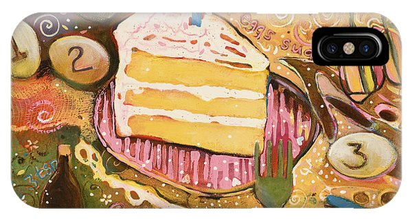 Yellow Cake Recipe IPhone Case