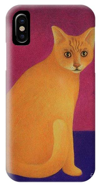 Yellow Cat IPhone Case