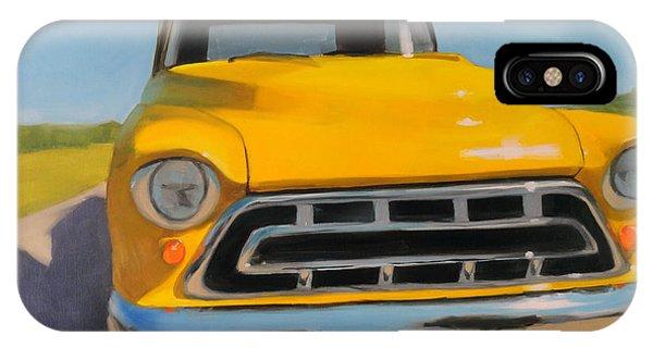 Yellow Chevy IPhone Case