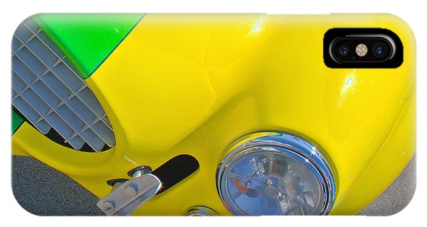 Yellow Cobra Phone Case by Hot Rod Pics