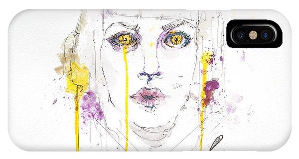 Yellow Phone Case by Edgar Rafael