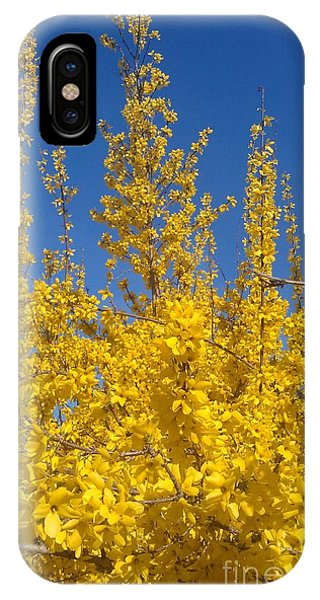Yellow Explosion IPhone Case
