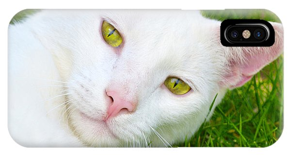Yellow Eyes IPhone Case