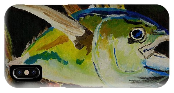 Yellow Fin Tuna IPhone Case