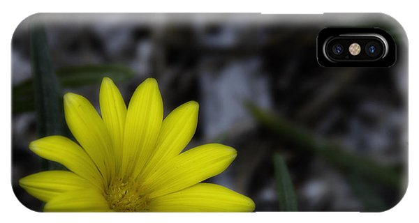 Yellow Flower Soft Focus IPhone Case
