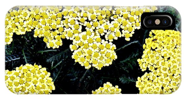 Yellow Flowers Phone Case by Sanford