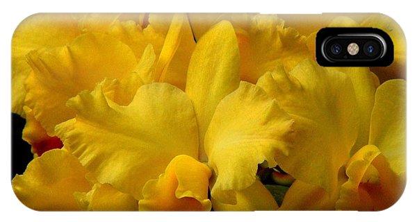 Yellow Folds IPhone Case
