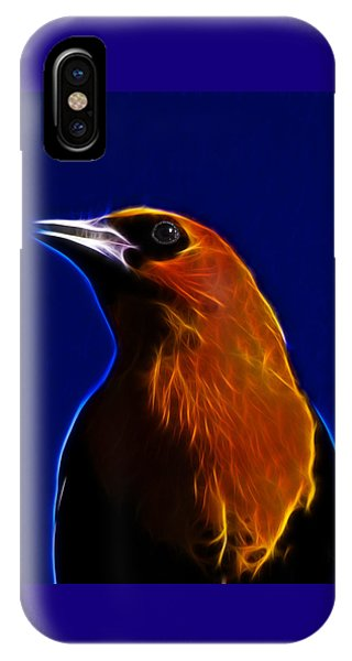 Yellow Headed Blackbird IPhone Case
