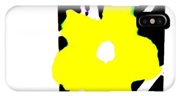 Yellow Jack W Logo IPhone Case