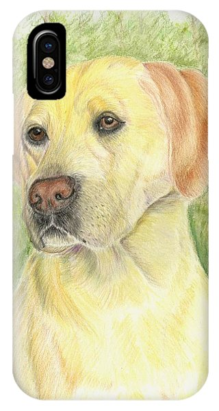 Yellow Labrador Retiever IPhone Case