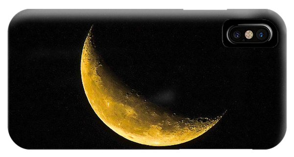 Yellow Moon IPhone Case