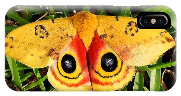 Yellow Moth IPhone Case