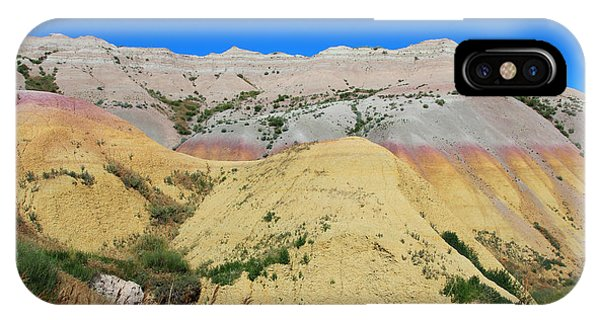 Yellow Mounds Badlands National Park IPhone Case