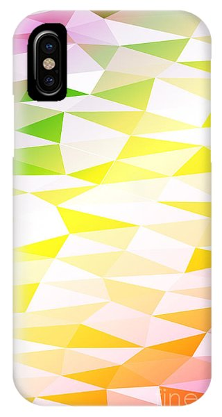 Futuristic iPhone Case - Yellow, Orange, Pink, Multicolor by Mademoiselle De Erotic