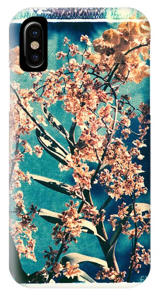 Yellow Orchids Phone Case by Deborah Gray Mitchell