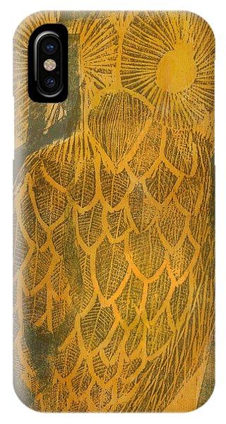 Yellow Owl IPhone Case