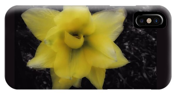 Yellow Parrot Tulip IPhone Case