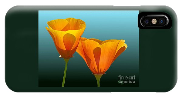 Yellow Poppies IPhone Case