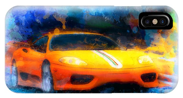Yellow Rage IPhone Case