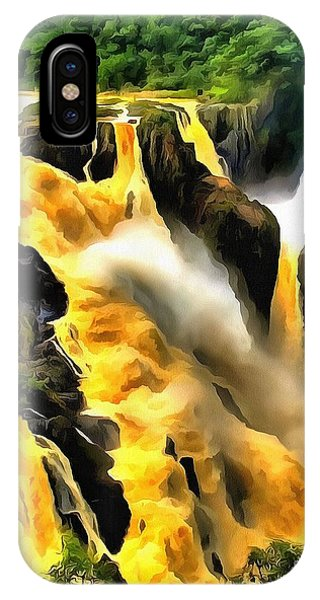 Yellow River IPhone Case