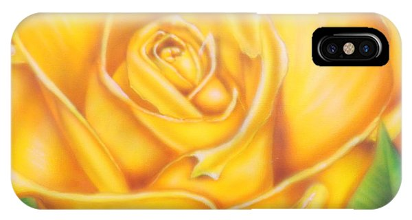 Yellow Rose Of Texas IPhone Case