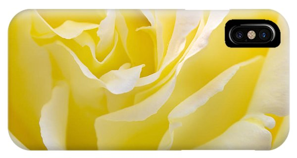 Floral iPhone Case - Yellow Rose by Svetlana Sewell