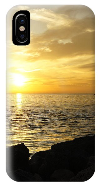 Yellow Sky IPhone Case