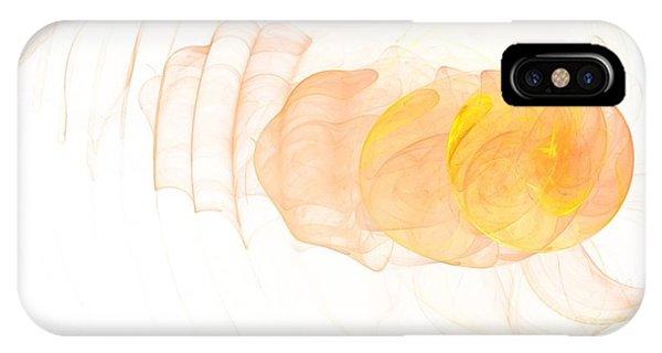Yellow Splash Phone Case by Mark Bowden