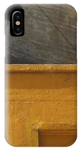 Yellow Storefront IPhone Case
