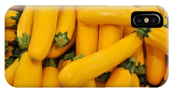 Yellow Summer Squash IPhone Case